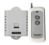 economico -interruttore intelligente dl220-v1.0 + ak-1000-2f per soggiorno / studio / luce led giornaliera / creativa / facile da installare telecomando senza fili 110-150 v / 220 v / 100-240 v