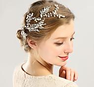 abordables -Femme Tendance Mode Princesse Imitation de perle Couleur Pleine Points Polka