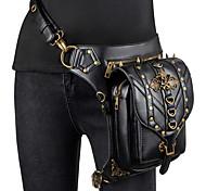 economico -Dottore della peste Retrò vintage Gotico Punk & Gotico Steampunk 17 ° secolo borsa Per donna Pelle Costume Nero Vintage Cosplay / Borsa / Borsa