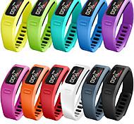 economico -Cinturino intelligente per Garmin 1 pcs Cinturino sportivo Silicone Sostituzione Custodia con cinturino a strappo per Vivofit