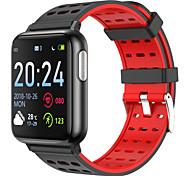 abordables -V5 Smartwatch Montre Connectée pour Android iOS Samsung Apple Xiaomi Bluetooth 1.3 pouce Taille de l'écran IPX-3 Niveau imperméable Imperméable Ecran Tactile Moniteur de Fréquence Cardiaque Mesure de