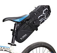 economico -B-SOUL 12 L Borsa posteriore laterale da bici Massima capacità Ompermeabile Strisce riflettenti Borsa da bici Poliestere PVC Marsupio da bici Borsa da bici Bici da strada Mountain bike