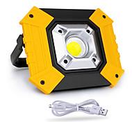 abordables -Éclairage extérieur 20w cob chargement usb lumières extérieures camping lumière d'urgence portable lumière mobile recherche de puissance lampe de pelouse