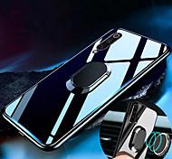 economico -telefono Custodia Per Samsung Galaxy Per retro A7 Galaxy A9 (2018) A10 A30 A50 A20 A40 A70 Resistente agli urti Con supporto Supporto ad anello Tinta unita Resistente TPU Vetro temperato