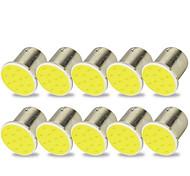 abordables -Moto / Automatique LED Clignotants / Feux de freinage / Feux de recul 1156 Ampoules électriques COB 2 W Pour Universel Toutes les Années 10 pièces