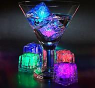 abordables -0.2m Lumières intelligentes 1 LED LED Dip 1 set Blanc Chaud Blanc Froid Rouge Décorative Glaçons LED Batteries alimentées