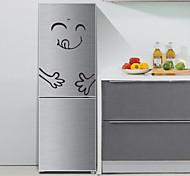 abordables -Autocollants muraux 3D autocollants muraux d'avion autocollants de réfrigérateur, matériau spécial décoration de la maison sticker mural décoration de réfrigérateur 1 pc / amovible 20 * 28 cm
