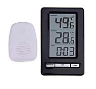 economico -ts-ws-47 termometro digitale senza fili indoor termometro esterno orologio da tavolo orologio da tavolo stazione meteorologica