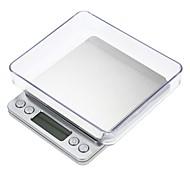 economico -Bilancia digitale da 3000g con schermo LCD automatico bilancia da cucina digitale con 2 vassoi