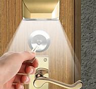 economico -1 set 2 w 4led porta a infrarossi serratura del corpo umano lampada di induzione corpo umano induzione luce di notte gabinetto lampada corridoio di induzione interna luce regalo