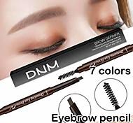 abordables -crayon à sourcils imperméable stylo à sourcils double avec outil de maquillage maquillage pinceau