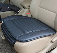 economico -cuoio dell'unità di elaborazione traspirante bambù carbone auto coprisedili interni cuscino per sedia cuscino per auto supporto universale per auto-styling per forniture auto sedia da ufficio