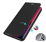 economico -telefono Custodia Per Samsung Galaxy Integrale Custodia in pelle Porta carte di credito A6 (2018) A6+ (2018) A8 2018 A8+ 2018 A7 Galaxy A9 (2018) A portafoglio Porta-carte di credito Con chiusura