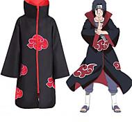 abordables -Inspiré par Naruto Akatsuki Manga Costumes de Cosplay Japonais Costumes de Cosplay Animé Manches Longues Manteau Pour Homme