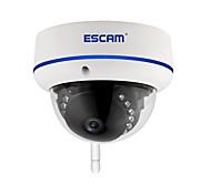 abordables -ESCAM ESCAM QD800WIFI 2 mp Caméra IP Intérieur Soutien 64 GB / CMOS / 50 / 60 / Adresse IP dynamique / Adresse IP statique