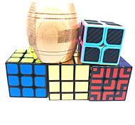 abordables -Ensemble de cubes de vitesse 5 pcs Cube magique Cube QI 2*2*2 3*3*3 Cubes Magiques Casse-tête Cube Rotatif Jouets de bureau Adolescent Adulte Jouet Cadeau