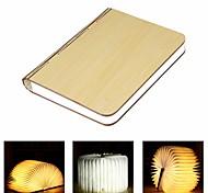 abordables -Veilleuses Livre Lampe de chevet de table Rechargeable Pliable Transport Facile Batterie Li intégrée 1 pc