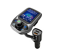 abordables -YuanYuanBenBen Bluetooth 3.0 Kit voiture Bluetooth Mains libres de voiture Bluetooth / QC 3.0 / MP3 Automatique