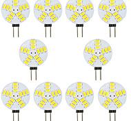 economico -10 pezzi 4 W Luci LED Bi-pin 300 lm G4 T 15 Perline LED SMD 5730 Bianco caldo Bianco 12 V