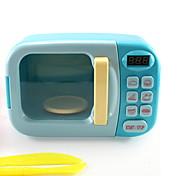 abordables -Jeu de Rôle Créatif Four Four à micro-ondes Adorable ABS + PC Enfants Tous Jouet Cadeau 3 pcs