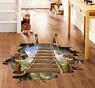abordables -paysage stickers muraux salon, amovible pvc décoration de la maison sticker mural 60 * 90 cm 60 * 90 cm