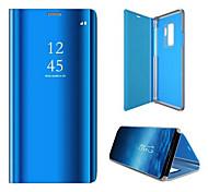 economico -telefono Custodia Per Samsung Galaxy Integrale Custodia flip Bordo S6 Con chiusura magnetica Auto sospendione / riattivazione Tinta unica Resistente PC