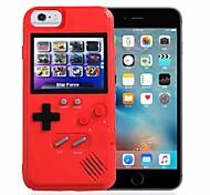 abordables -téléphone Coque Pour Apple Coque Arriere iPhone 6s Plus iPhone 6s iPhone 6 Plus iPhone 6 iPhone SE 2020 Etanche à la Poussière Cas de jeu Bande dessinée Dessin Animé 3D Dur Plastique