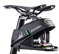 abordables -ROCKBROS 1/1.5 L Sacoche de Selle de Vélo Réfléchissant Grande Capacité Etanche Sac de Vélo Tissu de doublure Polyester PU Sac de Cyclisme Sacoche de Vélo Vélo de Route Vélo tout terrain / VTT