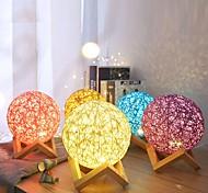abordables -Lampe 3d led table nuit lumière multicolore dessin animé jouet luminaria