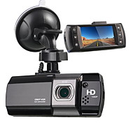 economico -AT550 1080p Nuovo design / HD / Avvia la registrazione automatica Automobile DVR 170 Gradi Angolo ampio 2.7 pollice LCD Dash Cam con Visione notturna / G-Sensor / Rilevatore di movimento Registratore