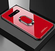 economico -telefono Custodia Per Samsung Galaxy Per retro S9 S9 Plus S8 Plus S8 S10 S10 + Galaxy S10 E Resistente agli urti Con supporto Supporto ad anello Tinta unica Resistente TPU Vetro temperato