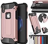 abordables -Coque antichoc couverture pour iphone xs max xr iphone xs x coque rigide en caoutchouc hybride pc pour iphone 8 plus iphone 8 iphone 7 plus iphone 7 plus iphone 7 iphone 6 plus étui en silicone tpu