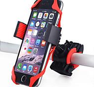 economico -Attacco cellulare per bici Regolabile Giravolta in volo a 360 gradi GPS per Bici da strada Mountain bike Moto Silicone ABS iPhone X iPhone XS iPhone XR Ciclismo Nero Rosso Blu 1 pcs