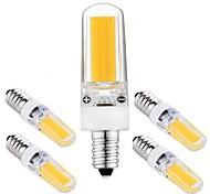 economico -5 pz e12 base led lampadine dimmerabili led bi-pin luci 3 w cob led luce per home office sale lampadario ac110v bianco caldo bianco naturale bianco