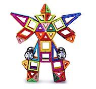 abordables -Carreaux magnétiques Kits de Maquette Blocs magnétiques 3D Briques de construction 109 pcs Jouet Vapeur Motif géométrique Dessin Animé 3D Interaction parent-enfant Éducatif Jouets de construction Tous