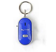 economico -mini fischio anti perso cercatore chiave wireless intelligente lampeggiante beeping telecomando perso localizzatore mirino con torcia a led