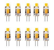 economico -10 pezzi 1.5 W Luci LED Bi-pin 3000 lm G4 1 Perline LED Bianco caldo Bianco 12 V