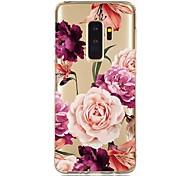 economico -telefono Custodia Per Samsung Galaxy Per retro S9 S9 Plus S8 Plus S8 S10 S10 + Galaxy S10 E Resistente agli urti Transparente Fantasia / disegno Floreale TPU