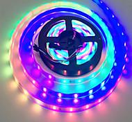abordables -Bande de lumière LED étanche RVB Tiktok lumières 32.8 ft SMD 2835 600LEDs lumières changeantes kits de corde avec 24 touches IR contrôleur alimentation pour la cuisine à domicile décoration de Noël in