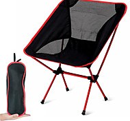 abordables -chaise de camping Portable Ultra léger (UL) Pliable Maille pour Plage Barbecue Rouge Bleu Orange