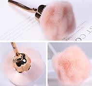 abordables -nail art pinceau à poussière pour manucure rose tête pinceau blush poudre pinceaux mode gel accessoires pour ongles matériel outils