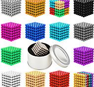 abordables -512-1000 pcs 5mm Jouets Aimantés Boules Magnétiques Blocs de Construction Aimants de terres rares super puissants Aimant Néodyme Aimant Néodyme Magnétique Soulagement de stress et l'anxiété Jouets de