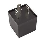 abordables -clignotants électroniques réglables led clignotant clignotant relais 12v 0.02a-20a pour motos de voiture de véhicule
