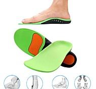 abordables -1 paire de semelles orthopédiques pour semelles de chaussures pour chaussures vierges repose-pieds type x / o correction pieds plats soutien voute plantaire chaussures de sport inserts