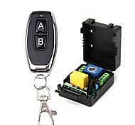 economico -Switch intelligente ak-rk1s-p + ak-j027-ab per soggiorno / camera da letto / quotidiano facile da installare / telecomando wireless a distanza 220 v