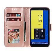economico -telefono Custodia Per Samsung Galaxy Integrale Porta carte di credito J6 J6 Altro J4 J4 (2018) J4 Altro J2 PRO 2018 Galaxy J4 Plus (2018) Galaxy J6 Plus (2018) M10 M20 A portafoglio Porta-carte di