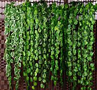 abordables -Plantes artificielles Plastique Fête / Soirée Vin Guirlande et Fleur Murale Vin 1