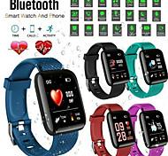 abordables -116 plus Smartwatch Montre Connectée pour Android iOS Samsung Apple Xiaomi Bluetooth 1.3 pouce Taille de l'écran IPX-3 Niveau imperméable Imperméable Ecran Tactile Moniteur de Fréquence Cardiaque