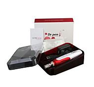 abordables -stylo microneedle professionnel rouleau électrique rechargeable dr.pen n2-w avec 12 cartouches d'aiguilles pour mésothérapie bb glow
