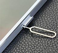 abordables -Outil de suppression de clé ouverte éjecteur de plateau d'éjection de la carte sim 50pcs